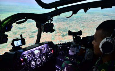 Taruna Akmil melaksanakan Pengenalan Joy Flight saat OJT di Skadron 11/Serbu