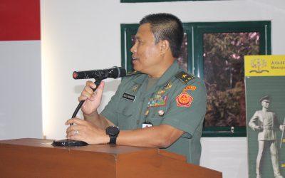 Ceramah Brigjen TNI Agus Winarna, S.I.P., M.Si., Tentang Tridharma Pergurun Tinggi