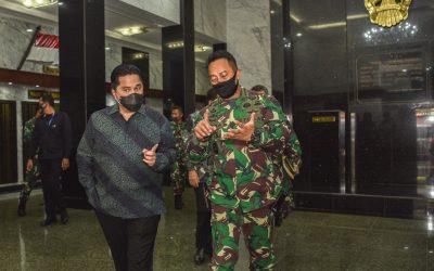 Bersama Komite Penanganan Covid-19 dan PEN, TNI AD Siap Dukung Penanggulangan Pandemi